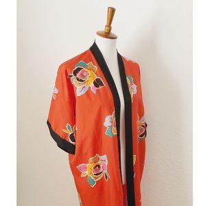 Vintage Kimono Robe Coverup